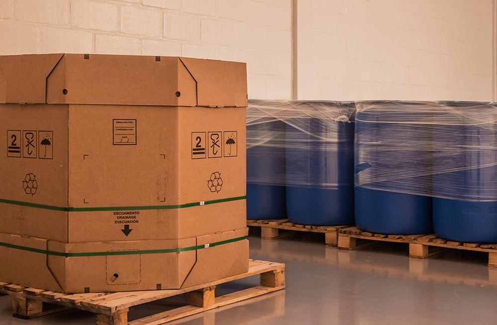 Embalagens para glicerina, tambores, Bag-in-box, Granel